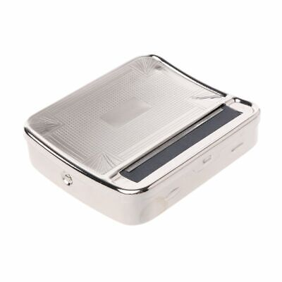 New Metal Automatic Smoking Cigarette Rolling Box Machine Case Tobacco Roller
