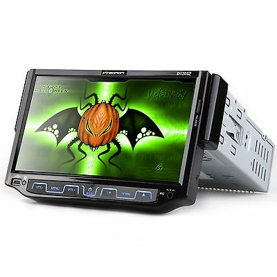 "ll DVD/CD/MP3/USB Car Stereo w/ 7"" Inch LCD Flip-Out Touchschreen Radio Face off"
