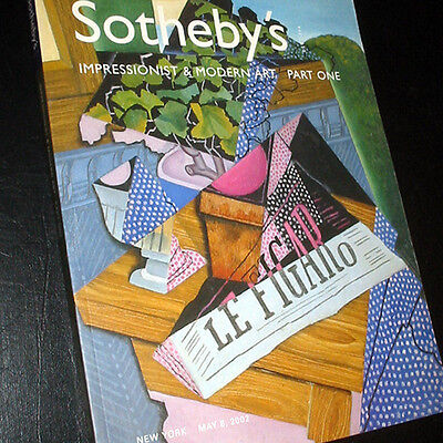 IMPRESSIONIST & MODERN ART * Sotheby's New York Auction Catalog * May 2002 193pg