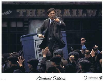 MICHAEL COLLINS - 1983 - original 11x14 LOBBY CARD SET of 8 Cards - LIAM NEESON