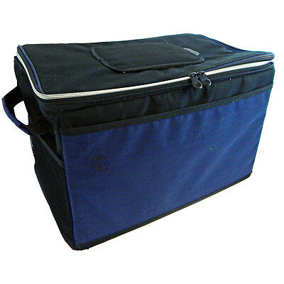 Coleman 48 Can Soft Sided Blue Collapsible Cooler