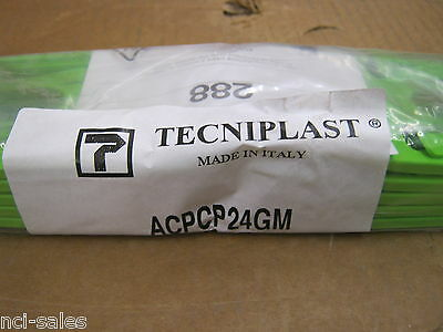 Tecniplast Acpcp24Gm Plastic Universal Label Holder Green For Gm & Gr Cages