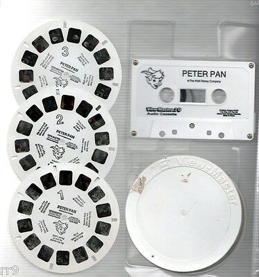 View-Master 3 Reel Set of Peter Pan with Cassette