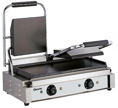 Bartscher A150672 - Electric griddle double smooth 220V