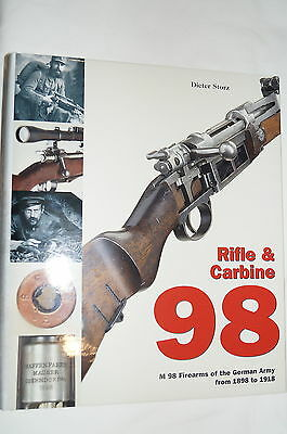 WW1 Imperial German K98 Rifle Carbine 1898 to 1918 Reference Book