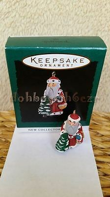 Hallmark 1994 Centuries of Santa Series Miniature Christmas Ornament