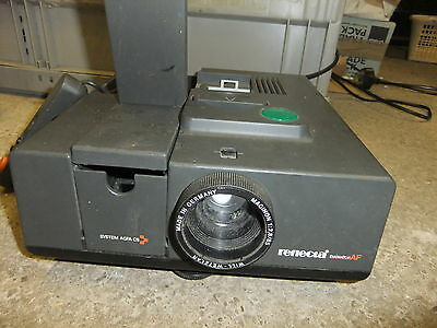 Slide projector REFLECTA DIAMATOR AF 85mm lens + remote XXXXX