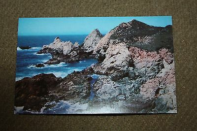 Vintage Postcard California's Scenic State Highway #1, One Of The Most Beautiful