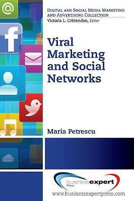 NEW Viral Marketing and Social Networks by Maria Petrescu Paperback Book Free Sh