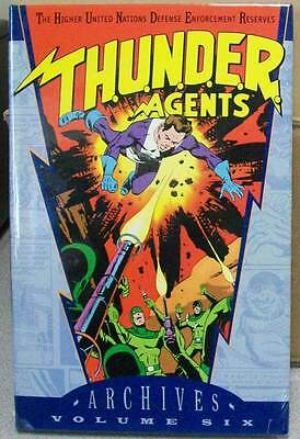 THUNDER AGENTS ARCHIVES VOLUME VOL 6 GN HC HARDCOVER (BRAND NEW)