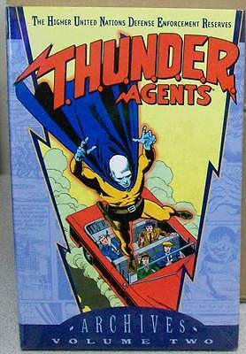 THUNDER AGENTS ARCHIVES VOLUME VOL 2 GN HC HARDCOVER (BRAND NEW)