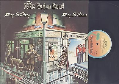 THE JESS RODEN BAND - PLAY IT DIRTY PLAY IT CLASS - ROCK LP - U.K. IMPORT