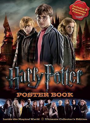 Harry Potter Poster Book: Inside the Magical World - Ultimate Collector's Editio