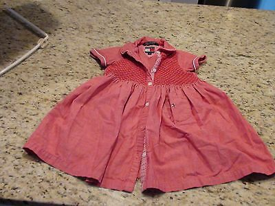 Tommy Hilfiger Girl's Dress Size 3T Good Condition Great for 4th of July