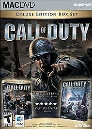 Call of Duty Deluxe Edition - Call of Duty, Call Of Duty United Offensive - Mac