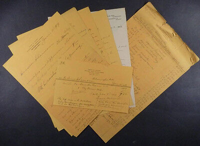 LETTERS to Artist FRANK E. SCHOONOVER regarding NATIVE AMERICAN INDIAN ARTIFACTS