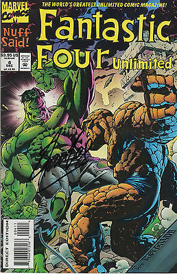 FANTASTIC FOUR UNLIMITED personally signed STAN LEE