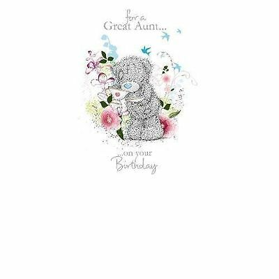 Me To You For A Great Aunt ... Birthday Card Tatty Teddy Bear New Gift