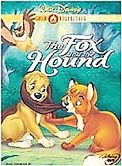The Fox and the Hound (DVD, 2000, Gold Collection) DISNEY MOVIE