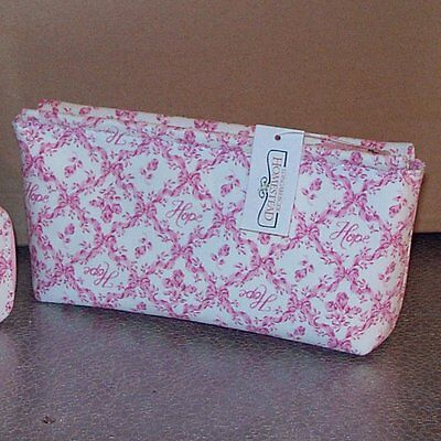 Longaberger Horizon of Hope COSMETIC BAG ~ Very Hard-to-Find New with Tags! ~