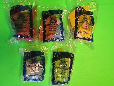 2003 McDonalds - Hot Wheels Highway 35 World Race - set of 5 *MIP*
