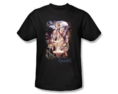 The Hobbit Movie, Rivendell Elven Outpost 3X T-Shirt, Lord of the Rings, NEW
