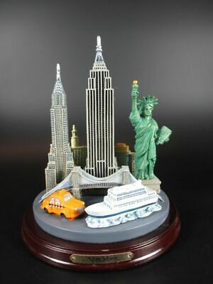 New York All in One,Empire,Chrysler,Freiheitsstatue,Brooklyn Bridge,Taxi,Wall St