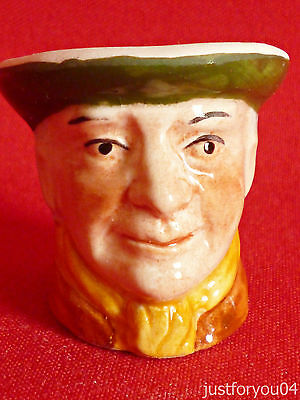 Tony Wood - The Game Keeper Character Head Thimble