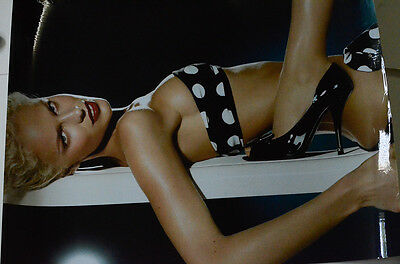 #2 Louis Vuitton Women's Shoes Store Display Advertising Poster