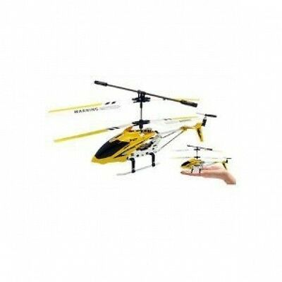 Remote Control Mini Metal RC Helicopter 3 Channel Gyro Smallest & Lightest NEW