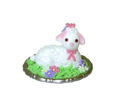 Dollhouse Lola Originals Handcrafted Easter Lamb Cake Miniatures for Doll House