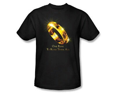 The Lord of the Rings One Ring To Rule Them All Image T-Shirt XXXL, NEW UNWORN