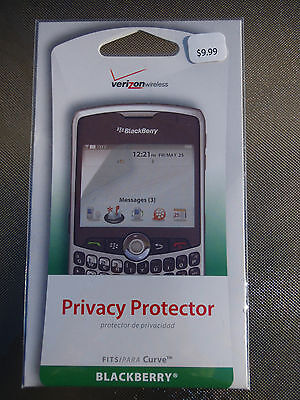 Verizon Wireless Privacy Screen Protector for Blackberry Curve Cell Phone Cover
