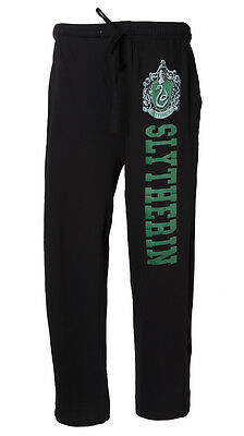 Harry Potter Officially Licensed NWT Slytherin Crest Men's Pajama Lounge Pants