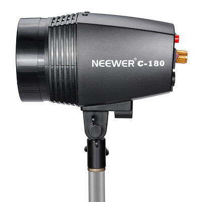 Neewer 180W Photography Studio Strobe/Flash  with 75W Modeling bulb