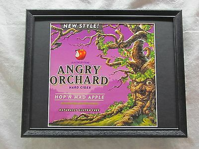 Angry Orchard Hop'n Mad Apple Beer Sign   #1186