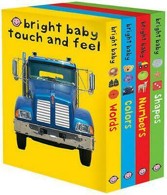 Bright Baby Touch and Feel: Words/Colors/Numbers/Shapes (English) Boxed Set Book
