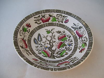 Vintage Ridgway Indian Tree Berry Fruit Dessert Sauce Bowl Staffordshire England