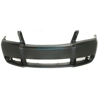 New Front Bumper Cover W/ Fog Lamp Holes Fits 2008-2010 Dodge Avenger Ch1000918