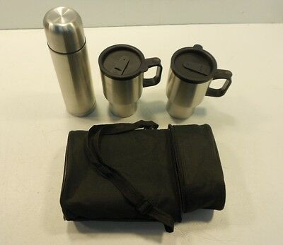 Fine Life Products Stainless Steel Travel Mug Set 4 Piece NV-02097