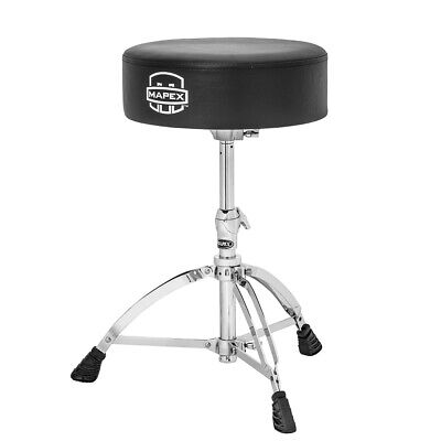 Mapex T570A Drum Stool Throne Thick Round Top
