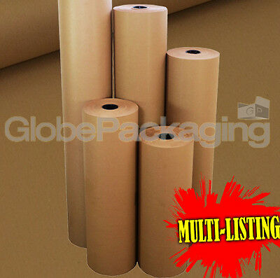 Strong Brown Kraft Wrapping Parcel Paper 88Gsm Free P&P