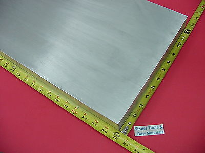 "1"" X 12"" ALUMINUM 6061 FLAT BAR 36"" long Solid T6511 1.00"" Plate Mill Stock"