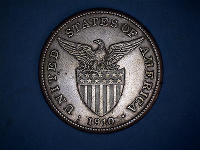 United States Philippines One Peso 1910-S #711 Getting Scarce
