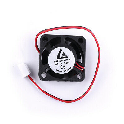 Mini 25x10mm DC 12V Silent Fan 0.84W for Hard Disk  or Graphic card Cooling
