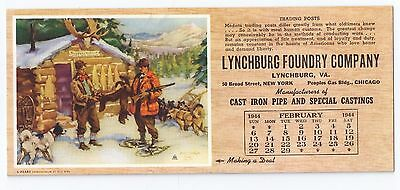 1944 FRANK HOFFMAN Brown & Bigelow LYNCHBURG FOUNDRY COMPANY Trading Posts