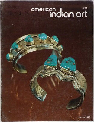 ANTIQUE NORTH AMERICAN INDIAN ART MAGAZINE - SPRING 1976 ISSUE