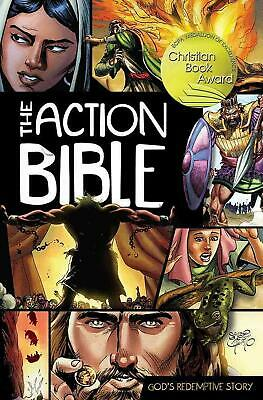 The Action Bible: God's Redemptive Story by Sergio Cariello (English) Hardcover