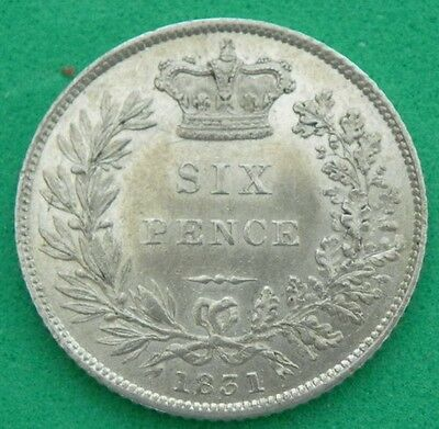 1831 - William 1V - Sixpence Spink3836 - A/UNC - SN6833