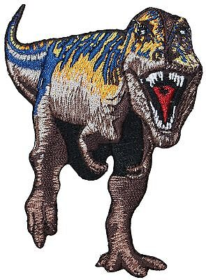 Tyrannosaurus T-Rex Tyrant Lizard Dinosaur Embroidered Iron On Applique Patch